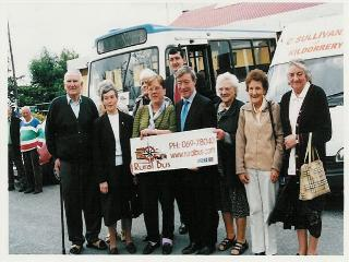 Picture taken at rural bus launch
